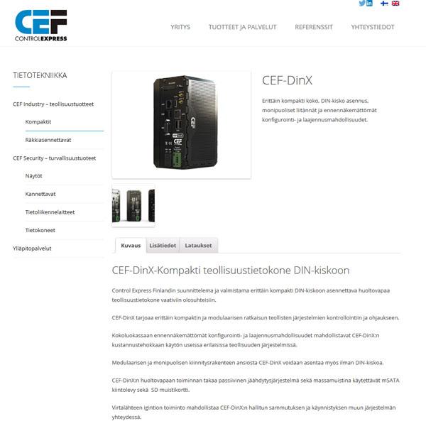 cef-verkkosivusto